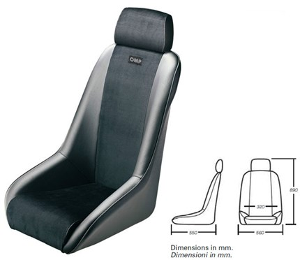 Asiento vintage OMP CLASSIC.