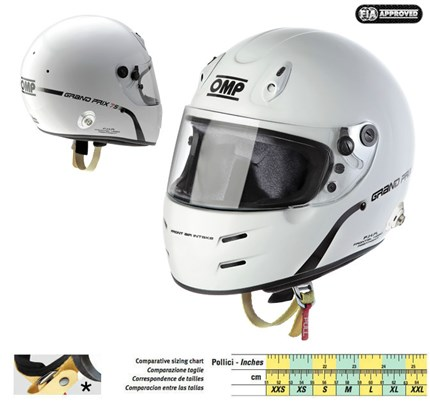 Casco OMP GP 7S.