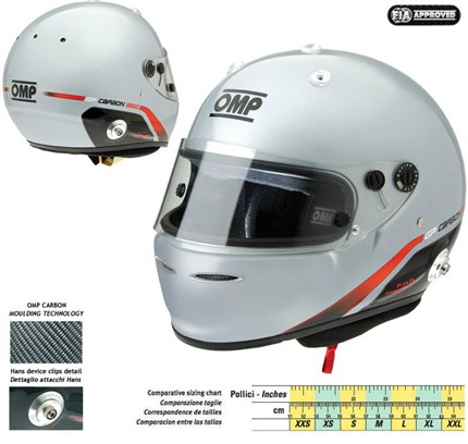 Casco OMP GP CARBON 8860