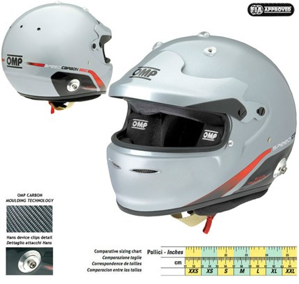 Casco OMP SPEED CARBON 8860